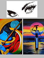 Modern People  Painting  Colorful Wall Art Decor Home Decor Wall Decor