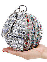 L.WEST Women's The Elegant Luxury Handmade Diamonds Evening Bag