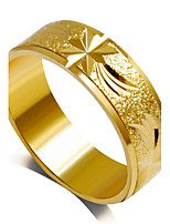 Ring Fashion Wedding / Party Jewelry Alloy Women Statement Rings 1pc,6 / 7 / 8 / 9 Gold