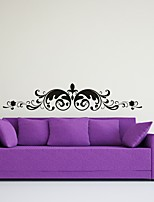 AYA™ DIY Wall Stickers Wall Decals,  Flower Rattan Type PVC Panel Wall Stickers 23*120cm