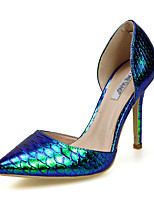 Women's Shoes PU Spring / Summer / Fall Heels / Pointed Toe Heels Party & Evening / Dress / Casual Stiletto Heel