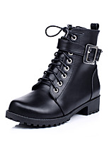 Women's Shoes Fashion Boots / Combat Boots / Round Toe Boots Office & Career / Dress / Casual Chunky Heel