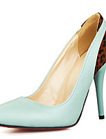 Women's Shoes Stiletto Heel Pointed Toe Color Contrast Pump More Color Available