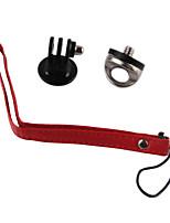 x 1 set Accessori GoPro Con bretelle Per Tutti Conveniente Universali PU rosso