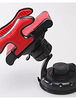 Automotive Supplies Universal Dual Hose Clamp Navigation Sucker Car Phone Holder 360 Degree Rotation