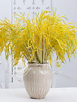 Hi-Q 1Pc Decorative Flowers Real For Wedding Home Table Decoration Paddy Artificial Flowers