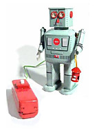 Novelty Toy  Puzzle Toy  Educational Toy  Wind-up Toy Novelty Toy  Warrior  Robot Metal Blue For Kids