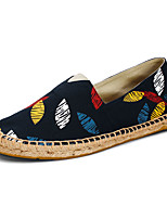 Men's Loafers & Slip-Ons Summer Round Toe / Flats Fabric Casual Flat Heel Others Black / Blue / Yellow Others