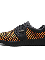 Men's Sneakers Spring / Summer / Fall / Winter Round Toe / Flats Cowhide Outdoor / Office & Career