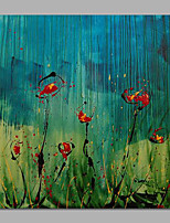 Wild Life Florals Landscape Paintings Blue Art Handmade Stretchered Ready to Hang