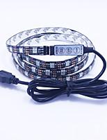 NO 0.5 M 60 5050 SMD RGB Prova-de-Água W Faixas de Luzes LED Flexíveis DC5 V