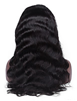 Shedding and Tangle free 100% Virgin Human Hair Body Wave Full Lace Wig