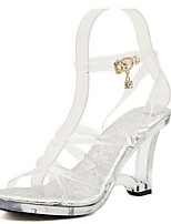 Women's Sandals Summer Sandals / Open Toe PVC Casual Translucent Heel Others White Others