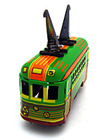 The Car Wind-up Toy Leisure Hobby  Metal Green For Kids