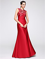 TS Couture® Formal Evening Dress Trumpet / Mermaid Jewel Floor-length Jersey with Appliques