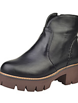 Women's Boots Fall  / Office & Career / Athletic / Casual Chunky Heel Others Black / Brown / Gray