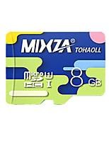 mixza 8 gb clase 10 micro sd tf tarjeta de memoria de destello genuina velocidad de lectura de alta velocidad: 80 MB / s resistente al
