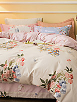 Brief style 800TC bedding sets Queen King size Bedlinen printing sheets pillowcases Duvet cover sanding Cotton