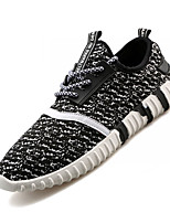 Women's Shoes Tulle Fall Flats Sneakers Athletic Flat Heel Others Black / Gray Sneaker
