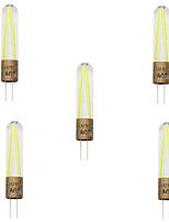 2W G4 Luces LED de Doble Pin T 2 COB 200LM lm Blanco Cálido / Blanco Fresco Decorativa AC 100-240 V 5 piezas