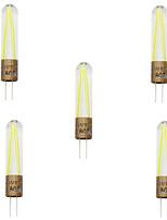5pcs HRY G4 2W COB Filament led light Lampada led spotlight chandelier Replace Incandescent lamp(AC220-240V)
