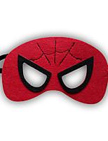 Girls / Boys Cartoon Hero / Halloween Mask, All Seasons Polyester Red