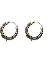 Earring Circle Jewelry Women Fashion / Vintage / Punk Style Party / Daily / Casual / Sports Alloy 1 pair Gold