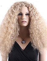 Capless High Quality Synthetic Blonde Long Curly Synthetic Wig