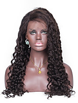 No shedding No tangle Curly Human Hair Full Lace Wig