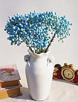 1 1 Филиал Полиэстер / Пластик Pастений Букеты на стол Искусственные Цветы 15.7inch/40cm