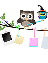 Removable Lovely Owls of Children's Room / Bedroom Wall Sticker