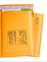 Yellow Kraft Paper Bubble Envelope Bag Post Bag Anti Shock Compression Foam Bag