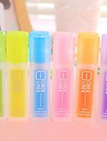 Marcadores y Resaltadores Subrayadores,Plástico Azul / Amarillo / Morado / Naranja / Verde