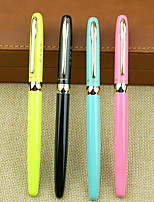 Multicolor Exquisite Appearance Durable Pen with Metal Pen Shaft