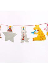 Accessori per feste Accessori per costumi e travestimenti Compleanno Classico Other Non personalizzato Carta Multicolore 1Pezzo/Set