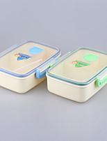 еда класса дети коробка для завтрака контейнер с 3 отсека 1050ml