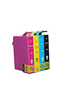 для Epson me330 me33 me350 патронов, пачка 4 коробки, коробки, разные цвета: черный, желтый, пурпурный, голубой