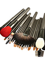 26Pcs Natural Sable Hair Animal Hair Professional Makeup Brush