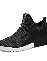 Men's Shoes Athletic Fabric Fashion Sneakers Black / Gray