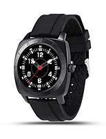 Kimlink DM88 Heart Rate Monitoring Wristwatch Smart Watch - SILICONE BAND
