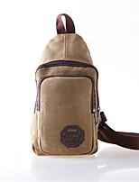 Men Canvas Casual / Outdoor Shoulder Bag