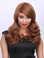 Shaggy Wave Hair Capless Stunning Long Women's Percent Human Hair Wig