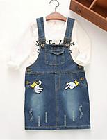Jeans Fille de Imprimé Décontracté / Quotidien Coton Printemps / Automne Bleu / Rose