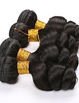 4 pezzi Onda sciolta Tessiture capelli umani Brasiliano Tessiture capelli umani Onda sciolta