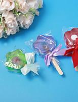 Flower Design Soap Wedding Favor - Set of 2(More Colors)