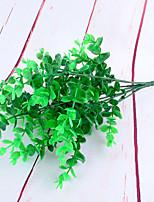 1 1 Ramo Poliéster / Plástico Plantas Flor de Mesa Flores artificiais 13.7inch/35cm