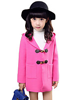 Girl's Casual/Daily Solid Sweater & Cardigan / Suit & Blazer,Rayon Spring / Fall Red