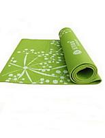 PVC Tapis de Yoga 173*61*0.8 Eco Friendly / Sans odeur 3.5 Rose / Vert / Violet No