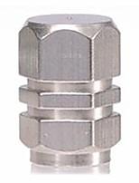 bildäck ventilhatten rostfritt stål metall personlighet gas munstyckskåpan