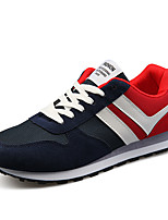 Men's Shoes Outdoor Fashion Sports Shoes Leisure Microfiber Fabric Shoes Blue / Red /Grey